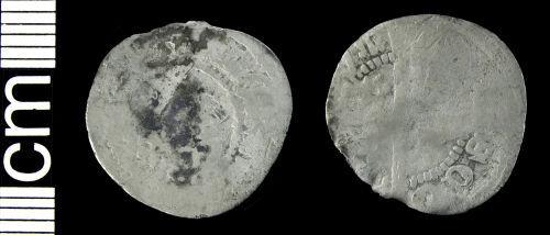 HAMP-414C13: Medieval coin: Penny of Alexander III