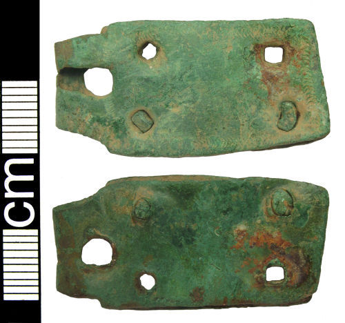 HAMP-507CB5: Medieval buckle plate