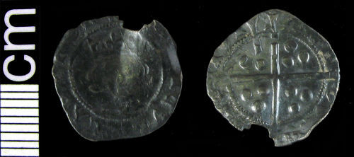 HAMP-527D78: Medieval coin: Penny of Henry VI