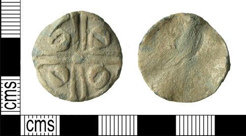 HAMP-6F86D3: Medieval/post-medieval token