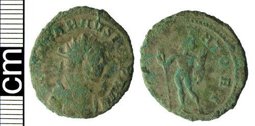 HAMP-7BDFC7: Roman coin: Radiate of Carausius