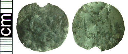 HAMP-7EDC86: Post-medieval coin: Groat of Philip and Mary