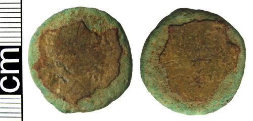 HAMP-80C382: Roman coin: Dupondius of Marcus Aurelius
