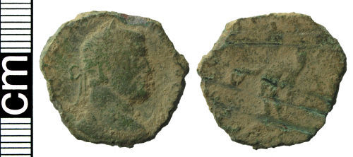 HAMP-869133: Roman coin: Nummus of Galerius as Caesar (possibly)
