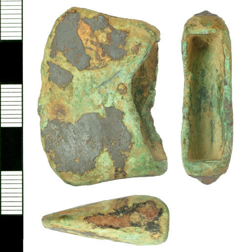 HAMP-888D78: Late Bronze Age socketed axehead fragment