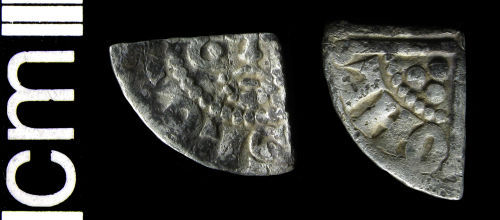 HAMP-898186: Medieval coin: Cut farthing of Henry III