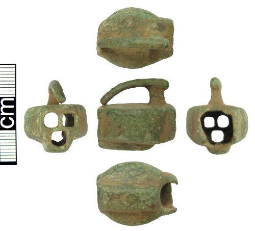 HAMP-92A695: Medieval padlock