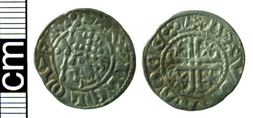 HAMP-963005: Medieval coin: Penny of William I (of Scotland)