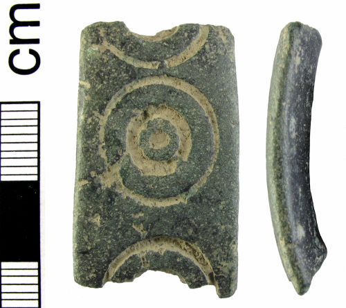 HAMP-9C9664: Medieval skillet handle fragment (probably)