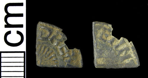 HAMP-A315A6: Early-medieval coin: Cut farthing of Aethelred II