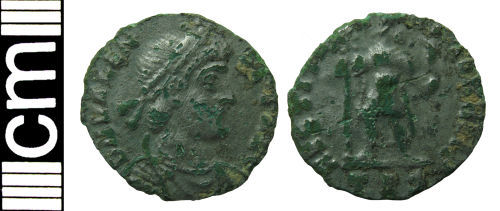 HAMP-A52102: Roman coin: Irregular siliqua copying Valens
