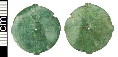 HAMP-A9E6F1: Post-medieval compass dial