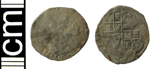 HAMP-AE6376: Post-medieval coin: Penny of Charles I