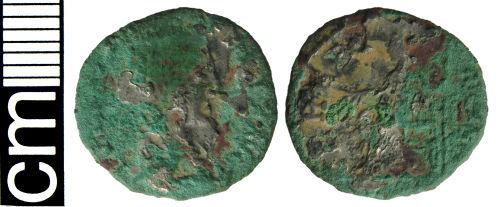 HAMP-BE61A4: Roman coin: Irregular denarius of Julia Domna