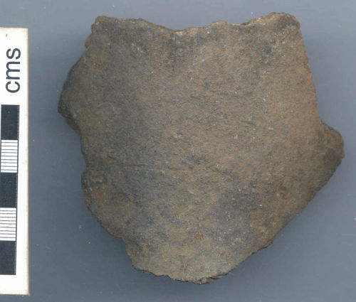 NARC-A0A086: Late Iron Age or Roman vessel sherd (front)
