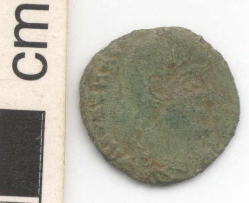 NARC-B58F72: Roman coin: Nummus of Magnentius (obverse)