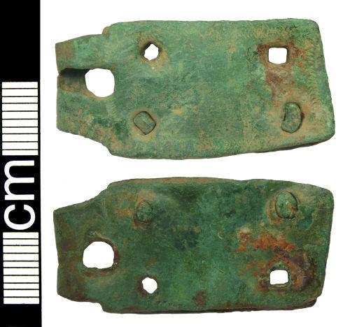 HAMP-507CB5: Medieval buckle plate