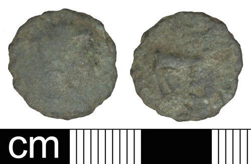 PAS-93C495: Roman coin: Radiate of Gallienus (sole reign)