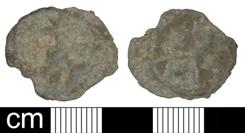 PAS-0B857A: Medieval/post-medieval token