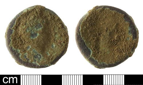 PAS-4C05B7: Roman coin: Sestertius of Faustina II