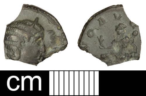 A resized image of Roman coin: Denarius of Julia Mamaea