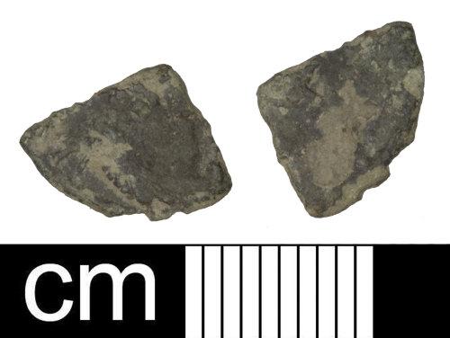 PAS-70D223: Roman coin: Siliqua of uncertain 4th-century ruler