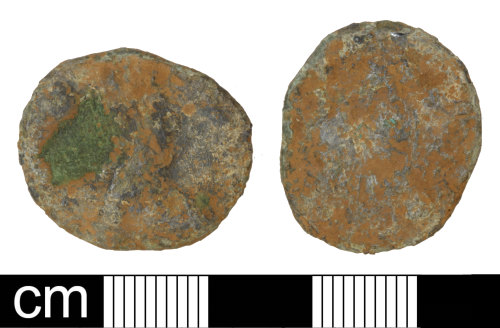 PAS-8B87DD: Roman coin: Radiate of uncertain 3rd-century ruler
