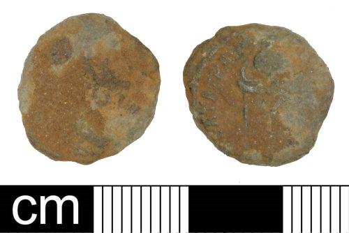 PAS-8B98F8: Roman coin: Nummus of House of Constantine