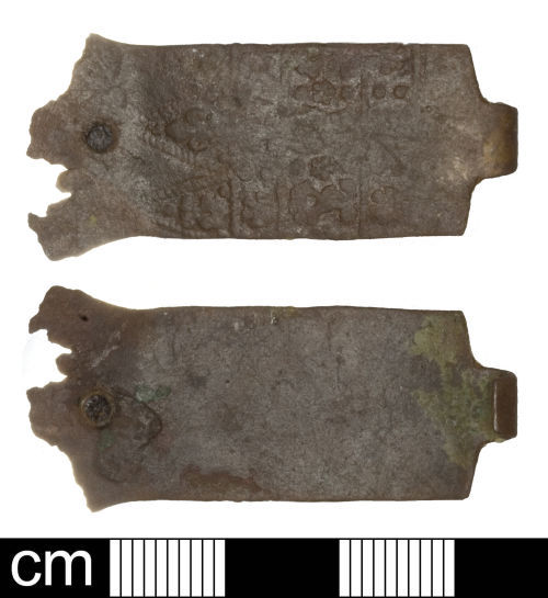 SOM-0B27C7: Post-medieval book-clasp (book fitting)