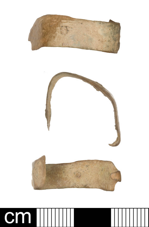 SOM-339F83: Post-medieval book clasp