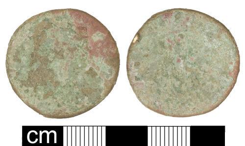 SOM-344788: Roman coin: Dupondius of Trajan