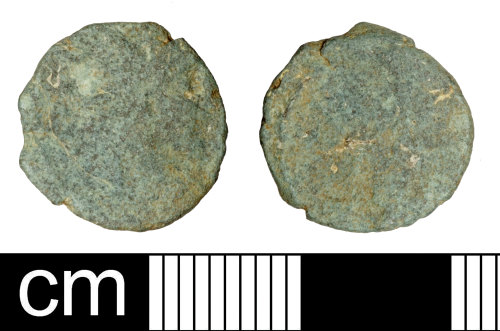 SOM-4A5467: Roman coin: Irregular radiate copying uncertain 3rd-century ruler