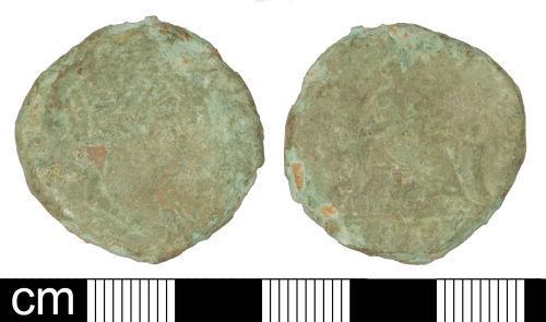 SOM-5562E1: Roman coin: Sestertius of Lucilla