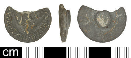 SOM-72F255: Medieval personal seal matrix