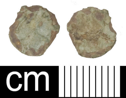SOM-7F0D53: Roman coin: Irregular nummus copying the House of Constantine