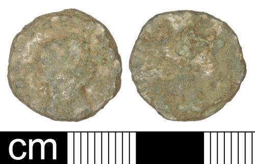 SOM-85BAA5: Roman coin: Radiate of Gallienus (sole reign)
