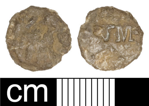 A resized image of Post-medieval unidentified object (disc)
