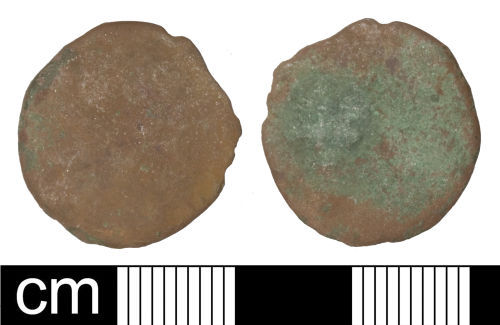 SOM-B217F2: Roman coin: Radiate of uncertain 3rd-century emperor