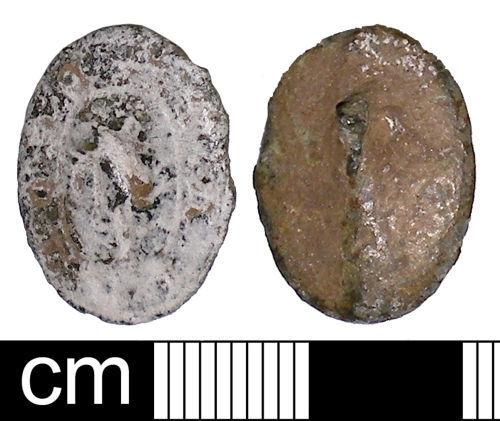 SOM-D63E54: Medieval impersonal seal matrix