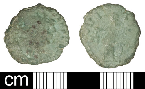 SOM-EA5770: Roman coin: Radiate of Carausius
