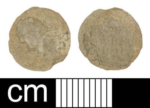 SOM-F27031: Roman coin: Nummus of Magnus Maximus or Flavius Victor
