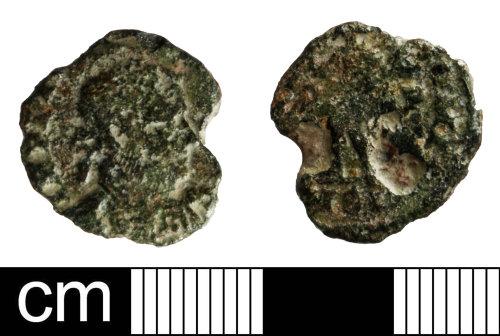 SOM-4A51BE: Roman coin: nummus of Licinius I