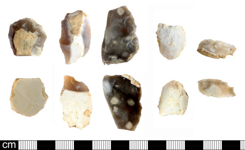 SOM-D14AD9: Late Neolithic or Bronze Age scrapers and debitage