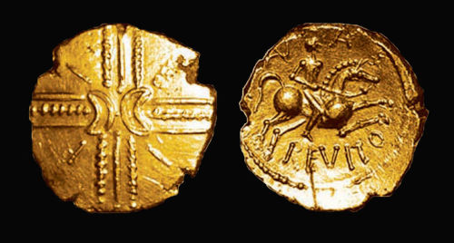 FASAM-FCD3A2: Anarevitos gold stater Cantii South Eastern