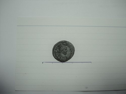 FASAM-495365: Roman coin: Carausius radiate PAX AVGGG London obv