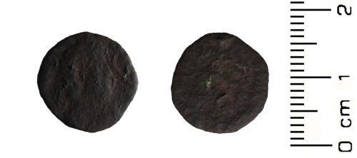HESH-18EDA4: Roman Coin: Nummus of Unknown Emperor