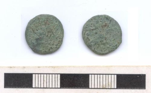 NARC-B82DC7: Roman coin: copper alloy