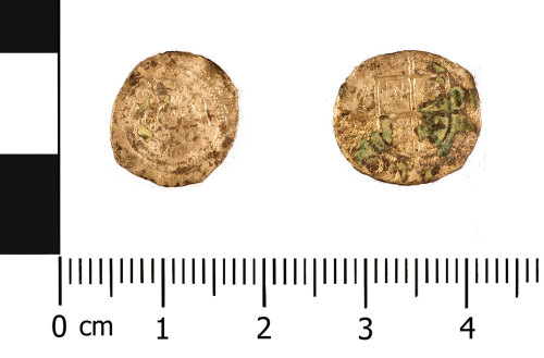 WMID-1299FA: Post Medieval coin: penny of Edward VI