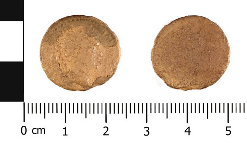 WMID-12FF0B: Roman coin: denarius probably of Nerva