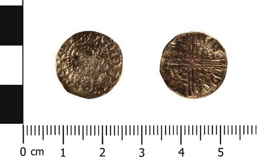 WMID-620DC4: Medieval coin: penny of Henry III